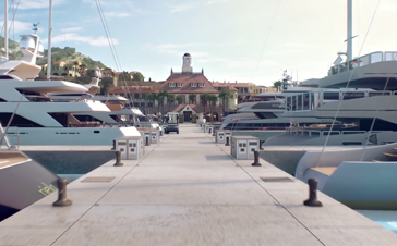 Christophe Harbour Marina 3D Tour