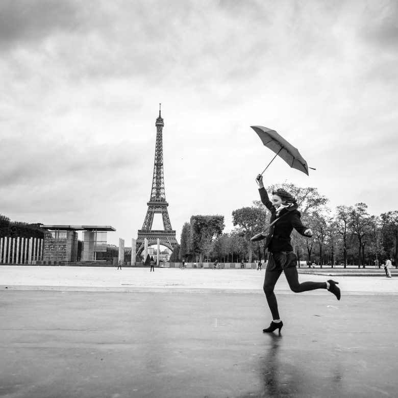 Landscape Frolicking In Paris France