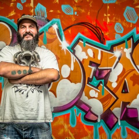 On Ideas Graffiti Artist