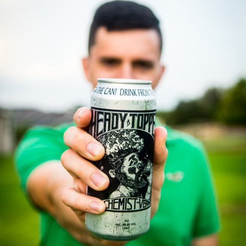 Product Photography Heady Topper